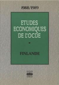 Cover Etudes economiques de l'OCDE : Finlande 1989