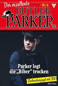 Cover Der exzellente Butler Parker 4 – Krimi