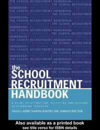 Cover School Recruitment Handbook