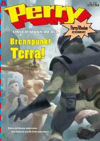 Cover Perry - unser Mann im All 138: Brennpunkt Terra!