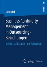 Cover Business Continuity Management in Outsourcing-Beziehungen