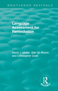Cover Language Assessment for Remediation (1981)