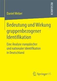 Cover Bedeutung und Wirkung gruppenbezogener Identifikation