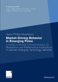 Cover Market-Driving Behavior in Emerging Firms