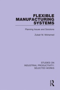 Cover Flexible Manufacturing Systems