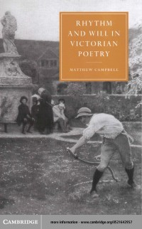 Cover Rhythm and Will in Victorian Poetry
