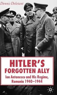 Cover Hitler's Forgotten Ally
