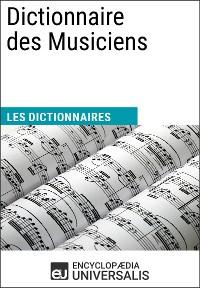 Cover Dictionnaire des Musiciens