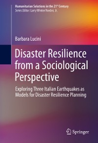 Cover Disaster Resilience from a Sociological Perspective
