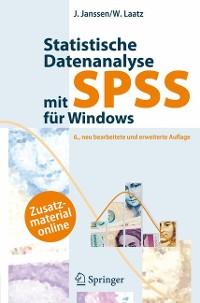 Cover Statistische Datenanalyse mit SPSS für Windows