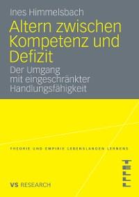 Cover Altern zwischen Kompetenz und Defizit
