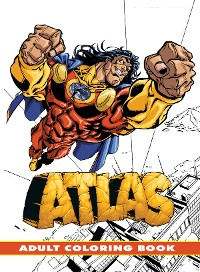 Cover Atlas: Adult Coloring Book
