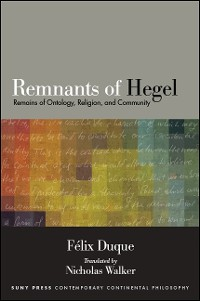 Cover Remnants of Hegel