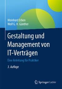 Cover Gestaltung und Management von IT-Verträgen