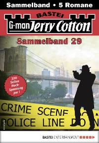 Cover Jerry Cotton Sammelband 29 - Krimi-Serie