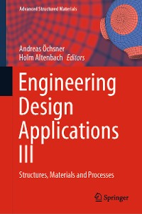 Cover Engineering Design Applications III