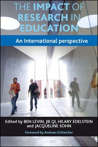 Cover The Impact of Research in Education