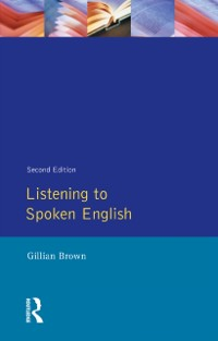 Cover Listening to Spoken English