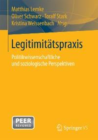 Cover Legitimitätspraxis