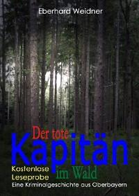 Cover DER TOTE KAPITÄN IM WALD - Kostenlose Leseprobe