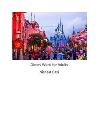 Cover Disney World for Adults