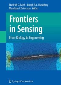 Cover Frontiers in Sensing