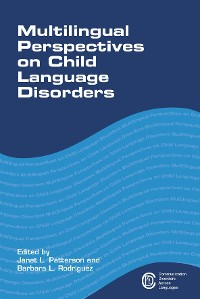 Cover Multilingual Perspectives on Child Language Disorders