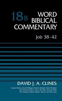 Cover Job 38-42, Volume 18B