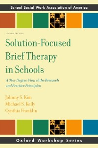 Cover Solution-Focused Brief Therapy in Schools