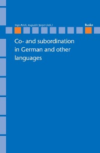 Cover Co- and subordination in German and other languages