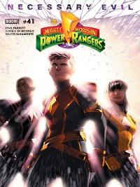 Cover Mighty Morphin Power Rangers, Issue 41