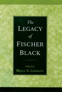 Cover Legacy of Fischer Black