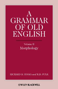 Cover A Grammar of Old English, Volume 2
