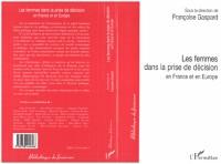 Cover Les femmes dans la prise de decision en France et en Europe