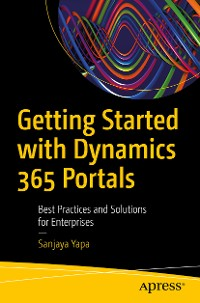 Cover Getting Started with Dynamics 365 Portals