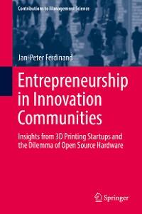 Cover Entrepreneurship in Innovation Communities