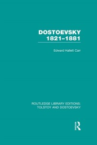 Cover Dostoevsky 1821-1881