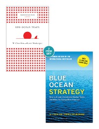 """Cover Blue Ocean Strategy with Harvard Business Review Classic Article """"Red Ocean Traps"""" (2 Books)"""