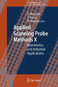 Cover Applied Scanning Probe Methods X