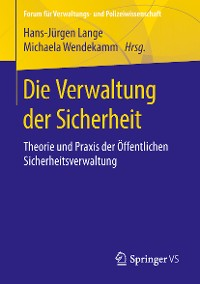 Cover Die Verwaltung der Sicherheit