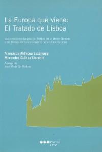 Cover La Europa que viene: el Tratado de Lisboa