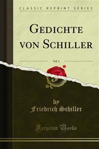 Cover Gedichte von Schiller