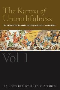 Cover The Karma of Untruthfulness: v. 1