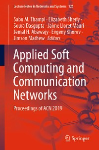 Cover Applied Soft Computing and Communication Networks