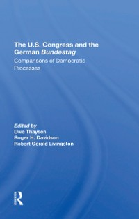 Cover U.s. Congress And The German Bundestag