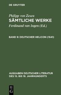 Cover Deutscher Helicon (1641)