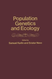 Cover population genetics and ecology