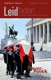Cover TrauerPolitik – Verluste gestalten
