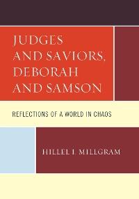 Cover Judges and Saviors, Deborah and Samson