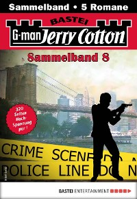 Cover Jerry Cotton Sammelband 8 - Krimi-Serie